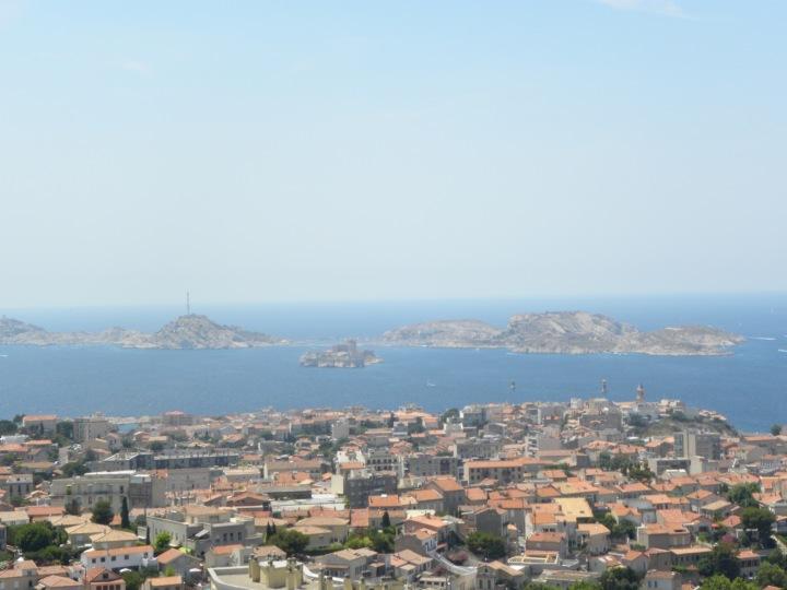 Blick auf das Chateau d_If und die îles du Frioul