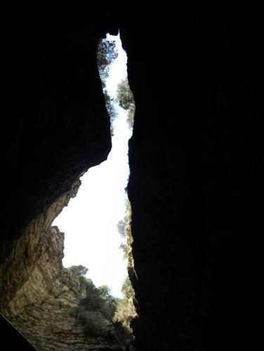Decke der Sdragonato-Grotte