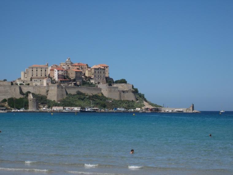 Die Zitadelle von Calvi