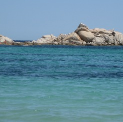 La plage de Tamaricciu