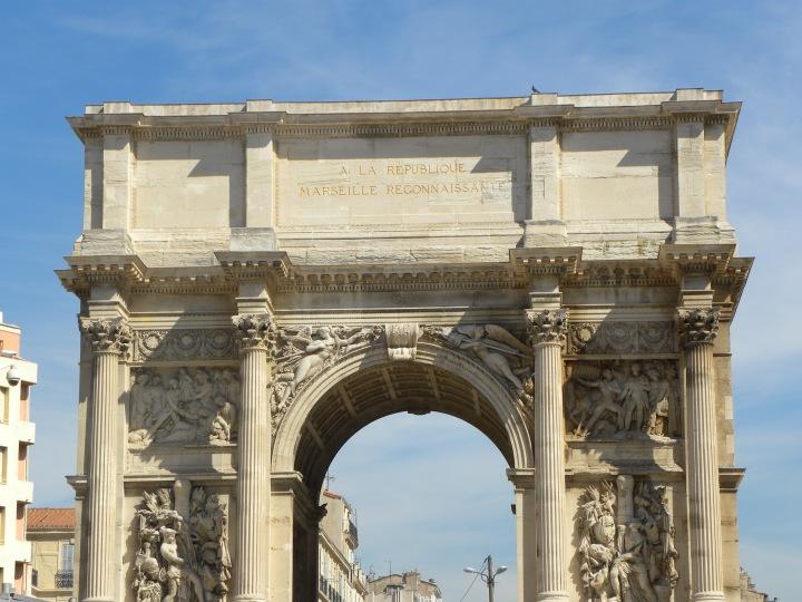 L'Arc de Triomphe, Marseille