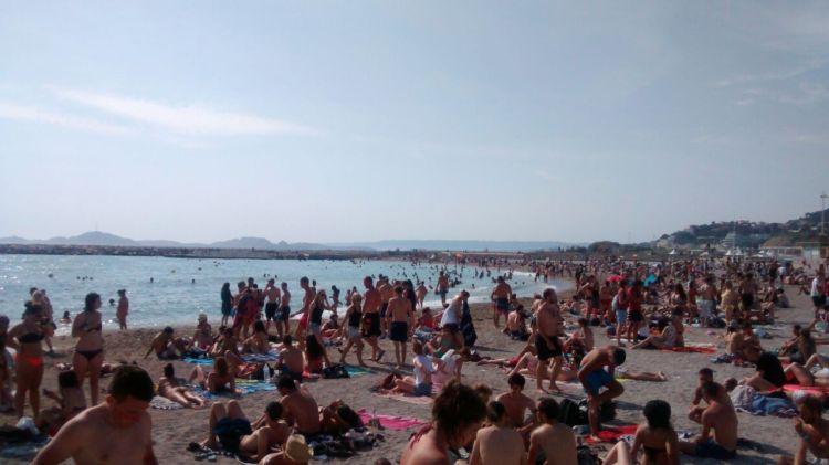 Strand von Marseille