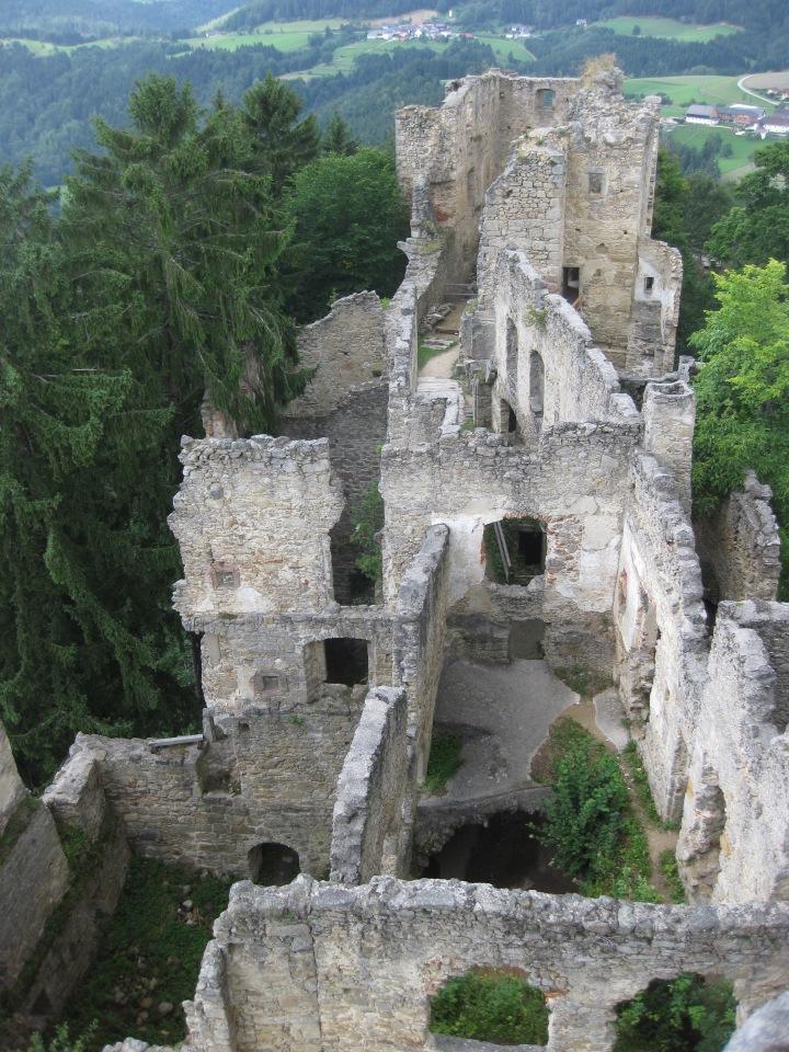 Die Burgruine Prandegg