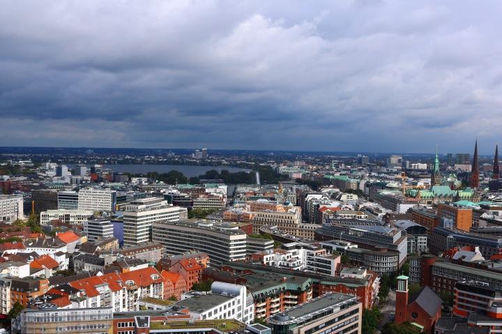 Aussicht vom Michel_Hamburg_Rathaus