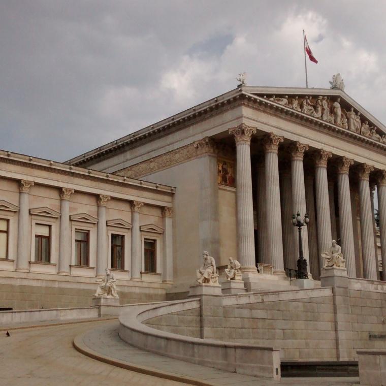 Das Parlament_Wien_Ringstraße