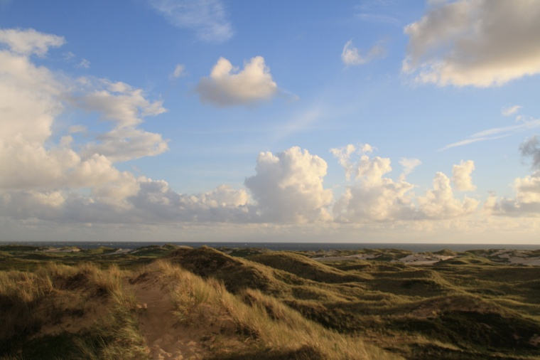 Wolkenbild_Amrum_Nordsee