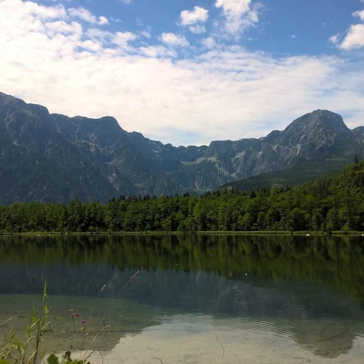 Wolkenbild_Grünau_Almsee_Österreich