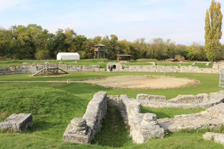 Amphittheater in Carnuntum_NÖ