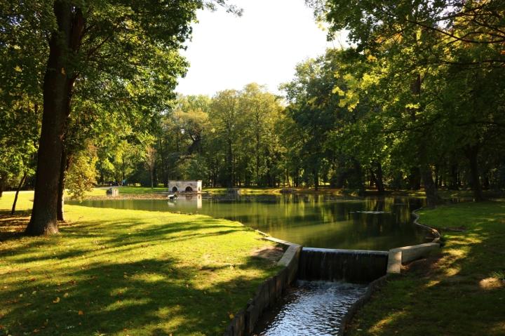 Erste Impressionen aus dem Schlosspark Laxenburg