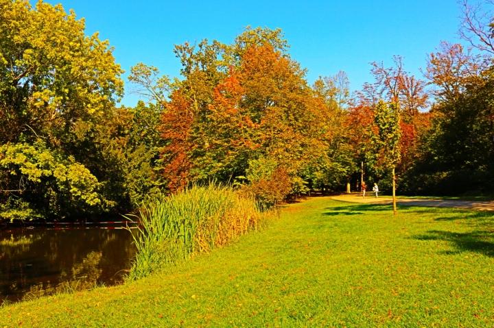Goldener Herbst im Schlosspark Laxenburg