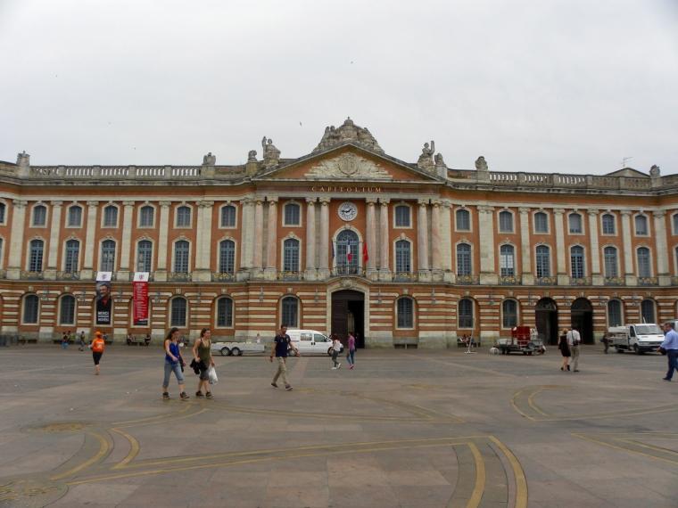 Le Capitole_Das Rathaus von Toulouse