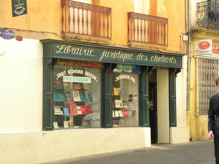 Librairie juridique_Montpellier