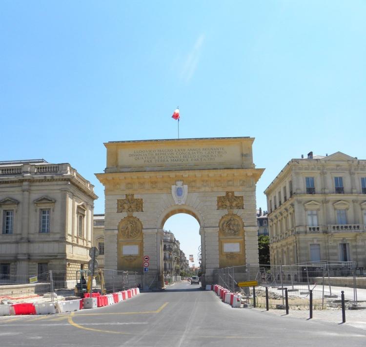 Triumphbogen Montpellier