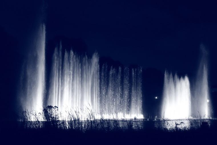 Wasserlichtkonzert im Park Planten un Blomen in Hamburg