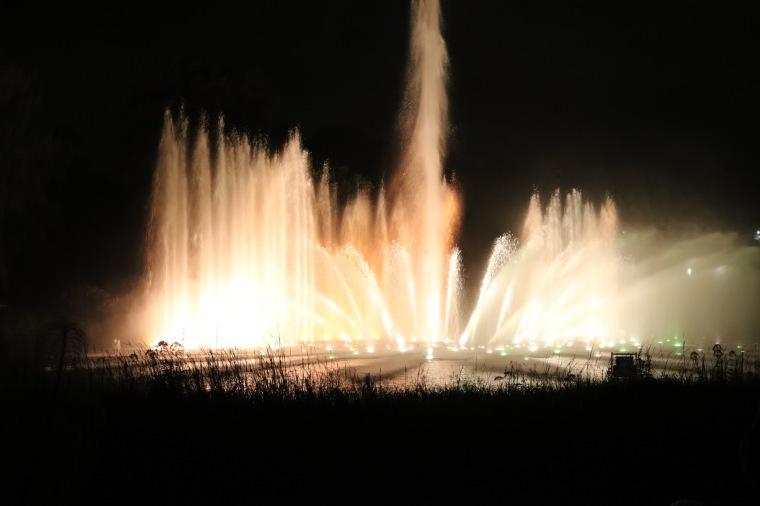 Wasserlichtkonzert im Park Planten un Blomen_Hamburg