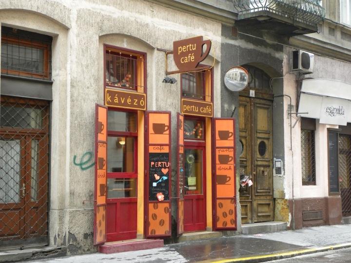 Café in Budapest