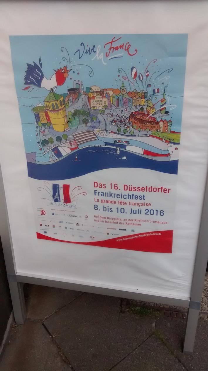 Das Frankreichfest in Düsseldorf 2016
