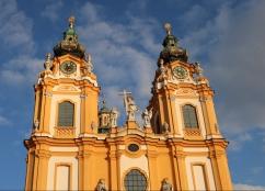 Blick auf die Kirchtürme von der Altane aus