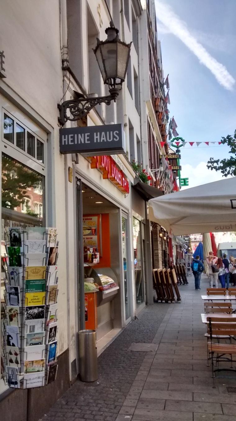 Heine-Haus in Düsseldorf