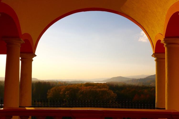 Torbogen am Kolomanihof stift MElk : Österreich