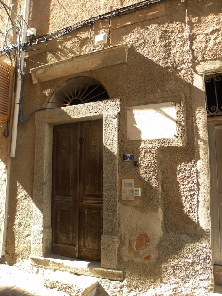 Wohnhaus von Napoleon Bonaparte 1721_Korsika
