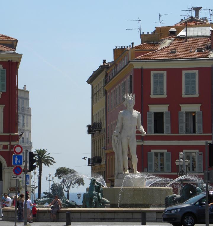 Apollo-Statue in Nizza