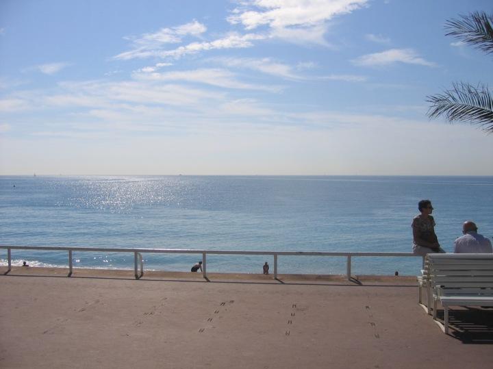 Auf der Promenade des Anglais