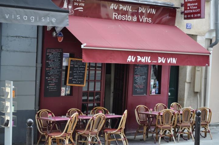 Restaurant à Paris_au phil du vin