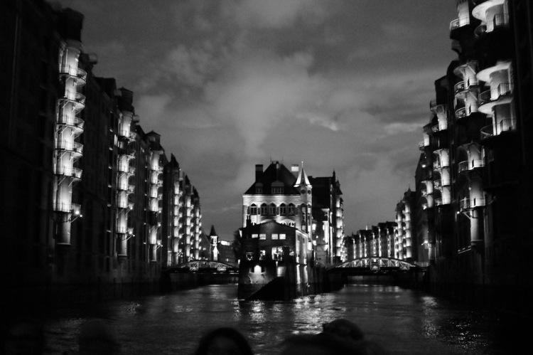 Das Wasserschloss in Hamburg