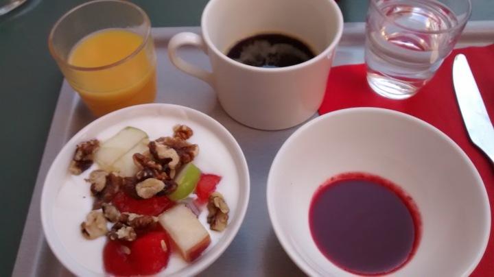 Frühstücken in Nice