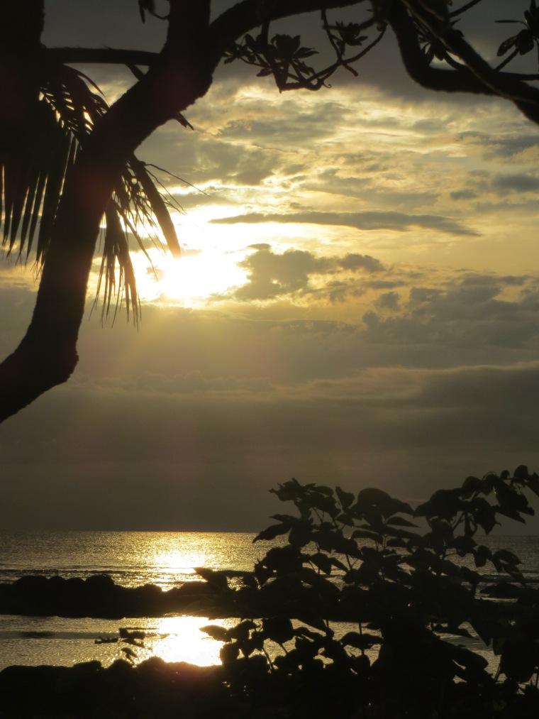 Impression vom Sonnenuntergang_Mauritius