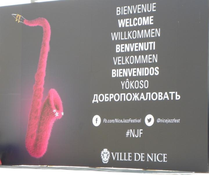 Jazz-Festival in Nizza