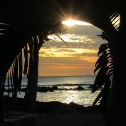 Sonnenuntergangstimmung auf Mauritius