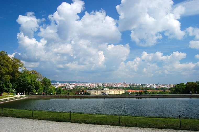 Ausblick von der Gloriette_Schlosspark Schönbrunn_Wien_kostenlos