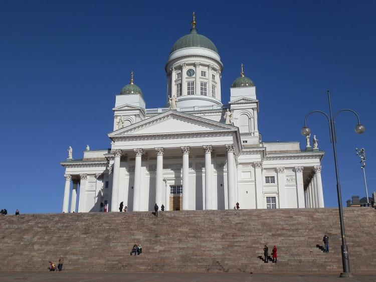 Die Kathedrale von Helsinki