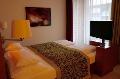 Unser Zimmer im Falkensteiner Hotel in Bad Waltersdorf
