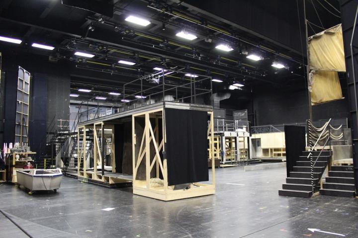Backstage im Musiktheater Linz
