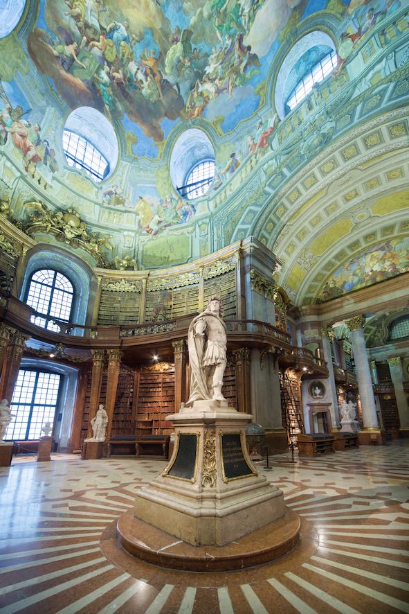 Der Prunksaal in Wien