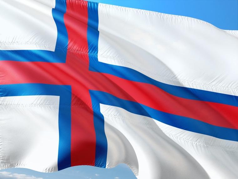 Färöer Inseln Flagge