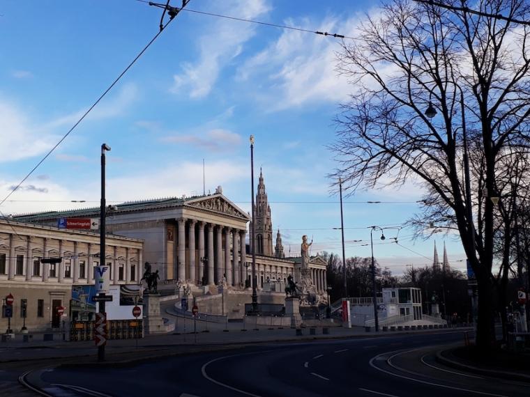 Parlament Wien_Ringstraße