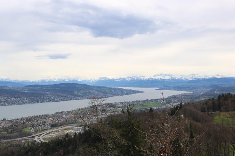Aussicht vom Uetliberg_Zürich