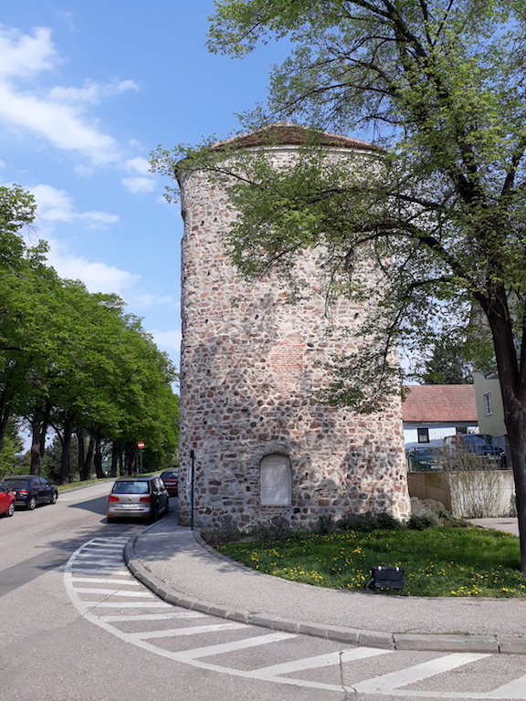 Der Römerturm in Tulln