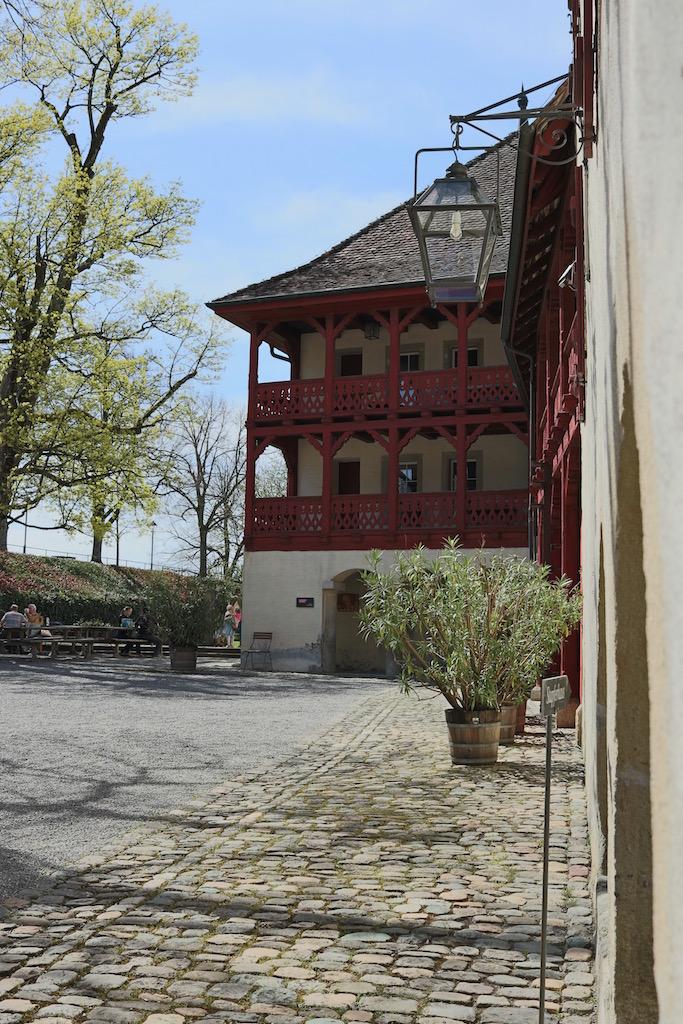 Innenhof vom Schloss Lenzburg