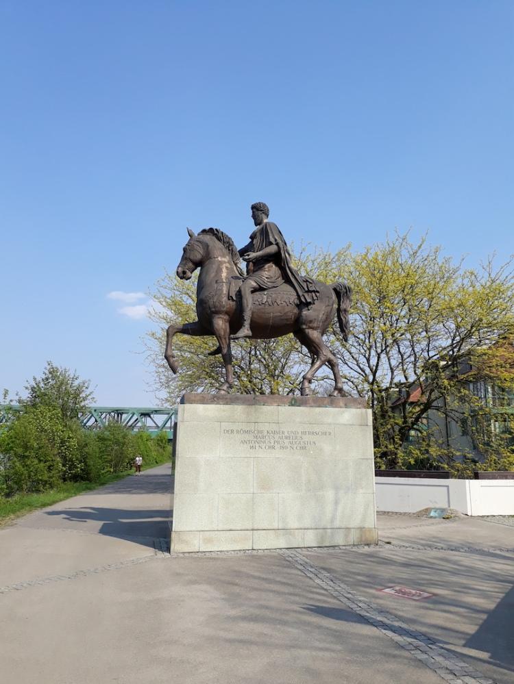 Marc Aurel Statue in Tulln