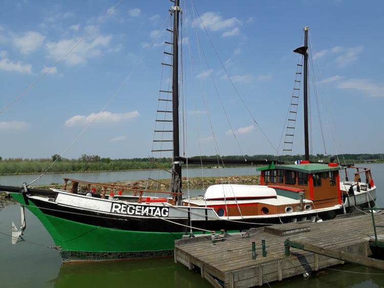 Regentag Schiff Tulln