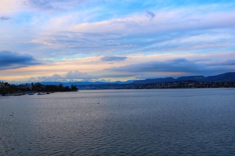 Blick auf den Zürichsee-01
