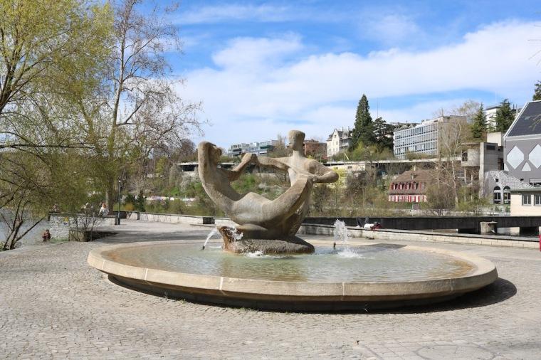 Platzspitz Zürich Brunnen