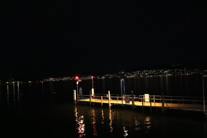 Zürichsee bei Nacht