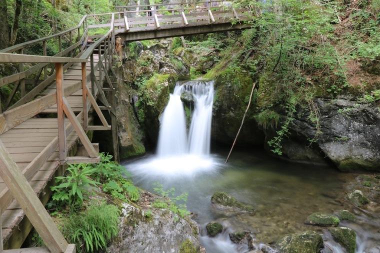 Wander- und Wasserwelt Myrafälle in Muggendorf Ausflug