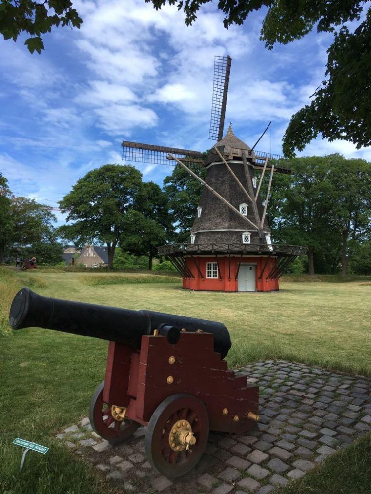 Windmühle Festungsanlage Kastellet